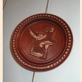 "Decorative plate ""Dance"""