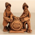 "Figure ""Moldavians near a wine barrel"""