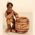 "Figure ""Moldavian with a barrel of wine"""