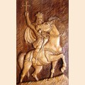 "Decorative panel ""Stephen the Great"""